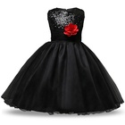 Pabasana 2019 solid flower sequin tulle girl dress for wedding with quality warranty