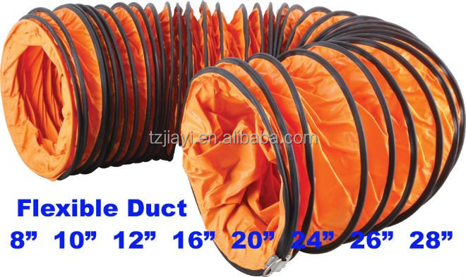 5 Inch Exhaust Pipe >> Exhausted Flexible Duct With Portable Air Ventilation Fan - Buy Exhausted Flexible Duct With ...