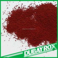 Specialized In Tile And Roof Iron Oxide Red Granular Inorganic Pigment