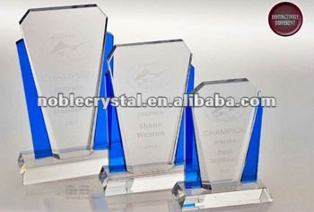 Noble Classic Crystal Two Tone Arch Corporate Award Trophy