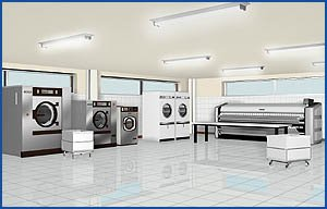 Washer Extractors, Dryers, Flat Work Ironers, Drycleaning MC