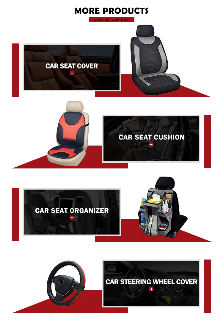 Durable fashionable washable car seat cover set