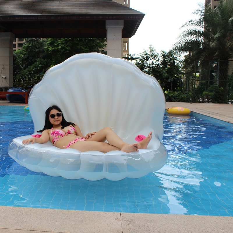 Pvc Inflatable Water Float With Mesh For Swimming