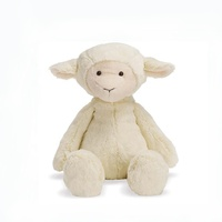 High quality stuffed lamb fat plush toy sheep for sale