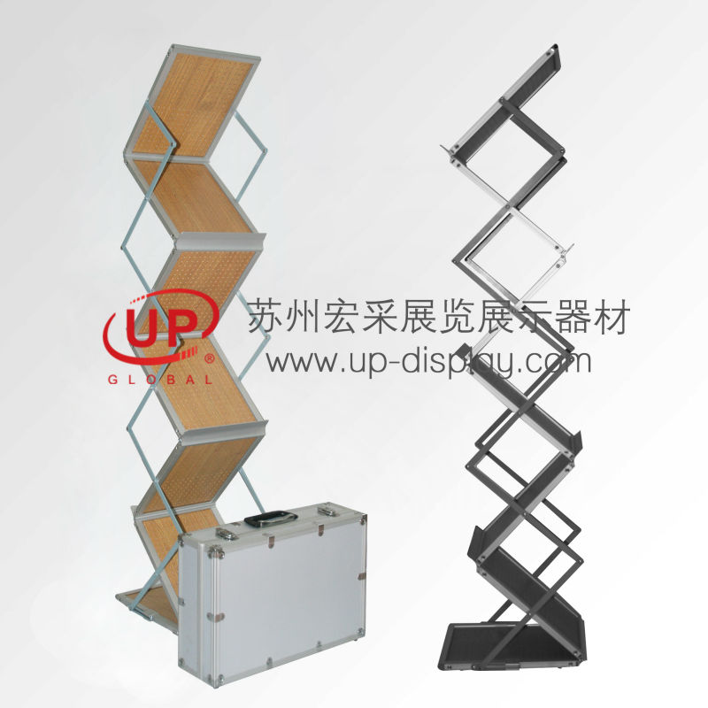 aluminum literature rack ,acrylic boxes,promotion banner A4/A3