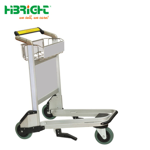 airport baggage luggage trolley cart