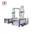 Two roller cotton wastecarding machine