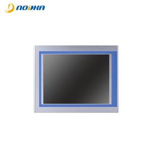 "2018 New design IP65 15"" LCD monitor industrial touch screen panel pc linux"