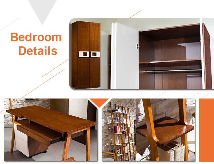 2016 Foshan High Quality Cheap Price Wooden Bed Room