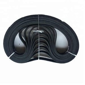 Rubber timing pk belt pulley fan belt poly ribbed v belt