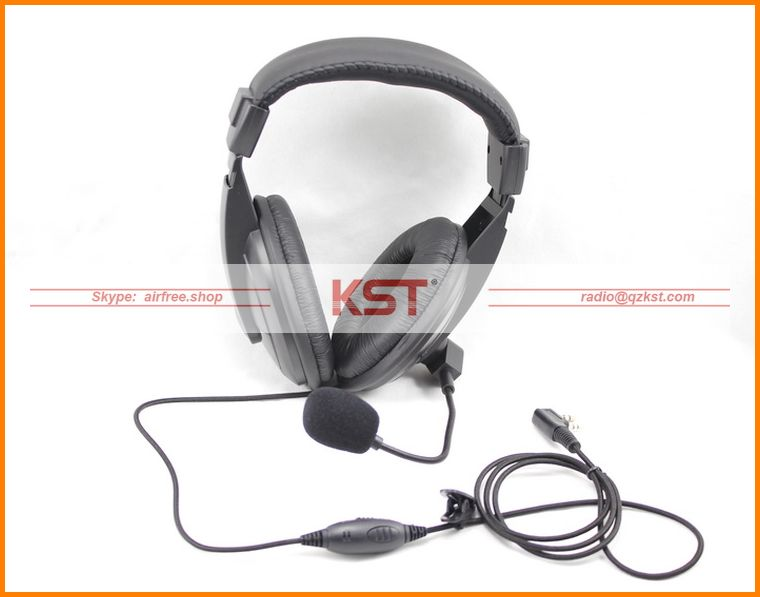 Vox Headset earphone headphone Compatible For Kenwood Baofeng Wouxun Qansheng Puxing Tyt Kpg27D
