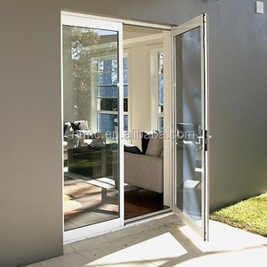 Modern Design Australia Standard Double Glazed LOW-E glass interior Aluminum Folding Door Manufacture Price