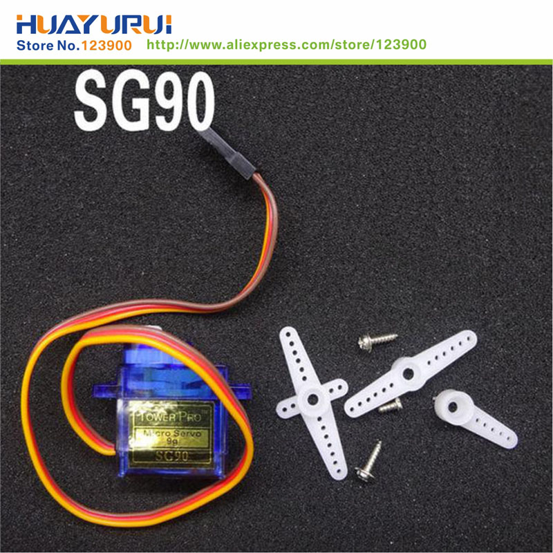 Free Shipping 1pcs 1 5kg torque Micro 9g Servo RC SG90 For Airplane Aeroplane 6CH RC