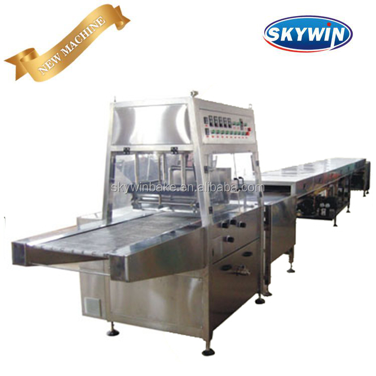 Skywin alibaba Chocolate Enrobing Sandwich Biscuit Machine equipment