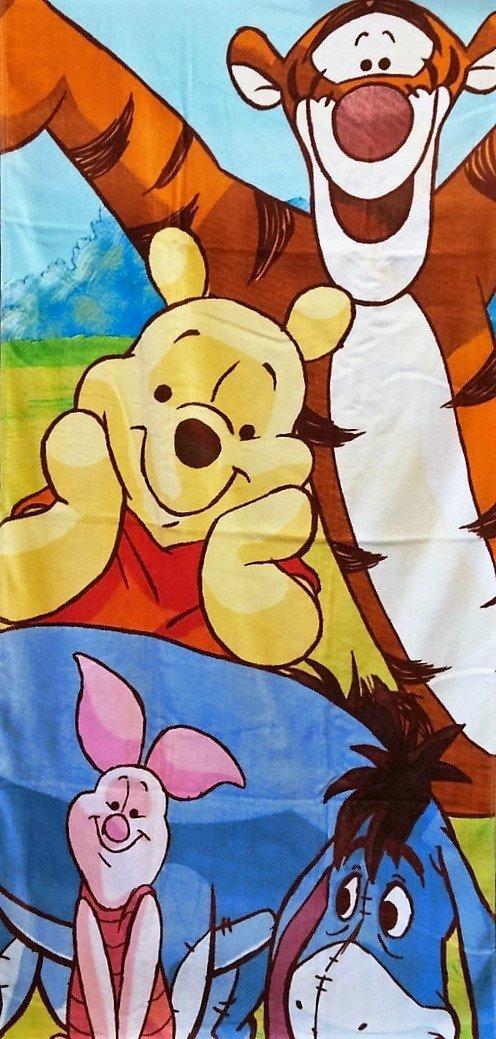 Beach Towel Disney Dc Comics Warner Bros Nick Cotton Pooh And Tigger Piglet
