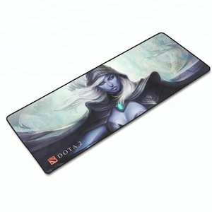 FDT Customized pattern printing microfiber rubber desk dota 2 game mouse pad