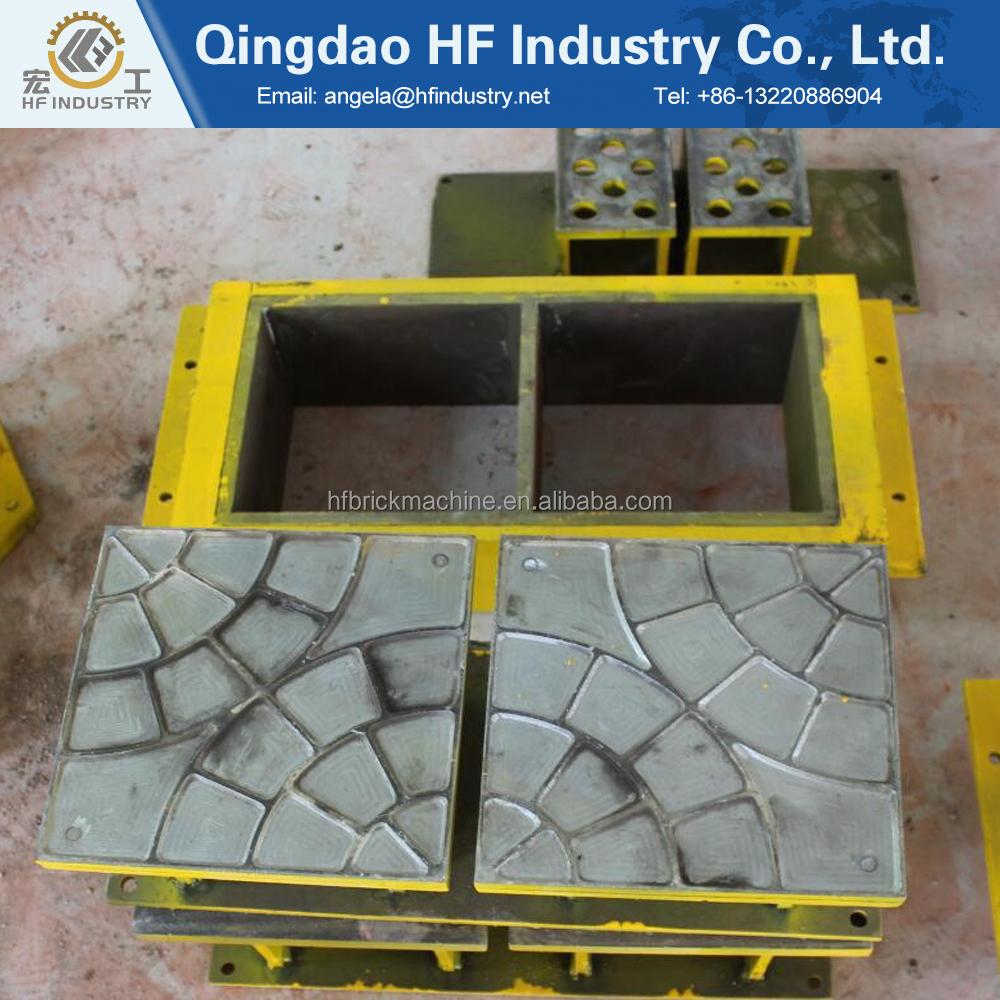 Hf4 10 automatique presse hydraulique terre sol argileux finisseur verrouillage creux brique faisant la machine