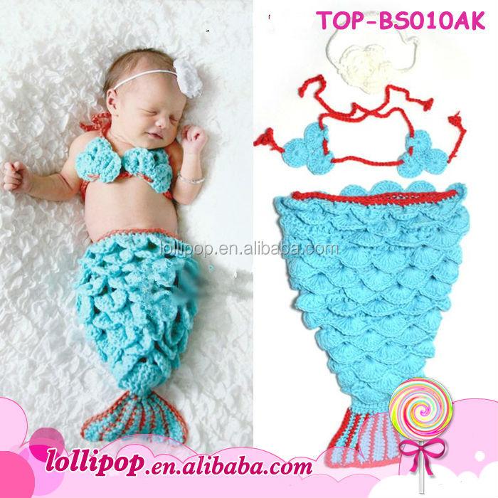 Encantador Bebé Patrón De Crochet Sirena Cresta - Manta de Tejer ...