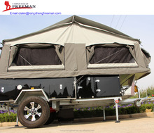 Australia Standard Heavy Duty Forward Folding Hard Floor Camper Trailer