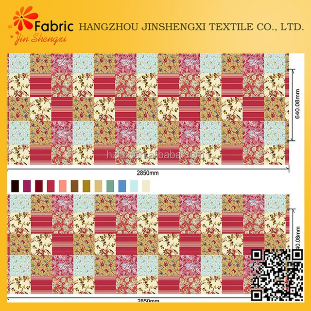 Wholesale new bedding design cheap printed african textile fabric