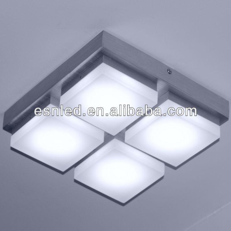 moderna europea nuevo estilo led de techo con punto ornamento