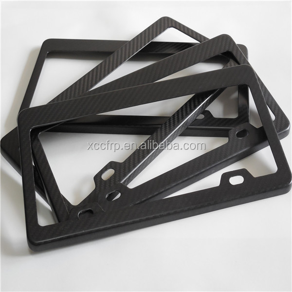 custom carbon fiber license plate frames car number plate holder & Custom Carbon Fiber License Plate Frames Car Number Plate Holder ...