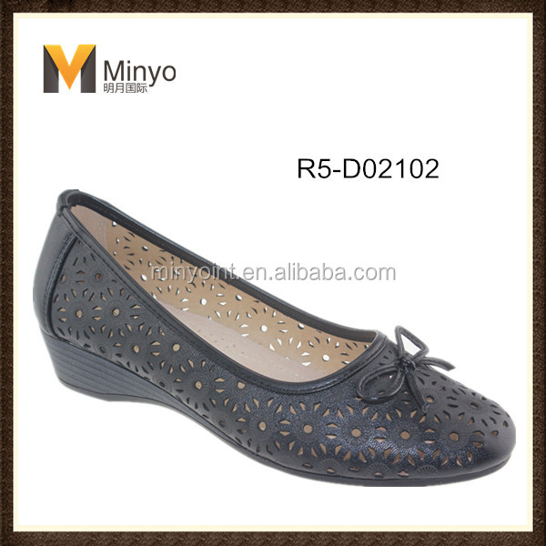 Minyo bow-tie lofer shoes made in china