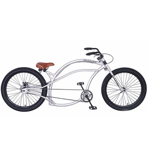 "26""long beach cruiser bike men cruiser type bicycle chopper style beach cruiser bike SW-BC-W34"