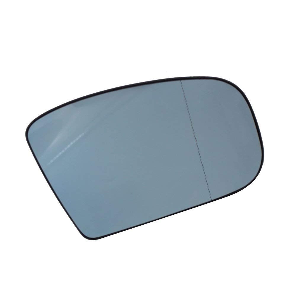 Blue Left Driver Side Heated Mirror Heating Rearview Mirror Glass for Mercedes Benz S-Class W220 1998-2002