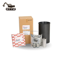 Excavator Hitachi Spare Parts 4JB1 4HK1 6BG1 6BD1 6HK1 Piston Liner Kit Engine Overhaul Kit 1878127750