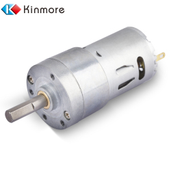 12V 24 Volt DC Brushed Worm Gear Motors For Spray Dispenser And ATM