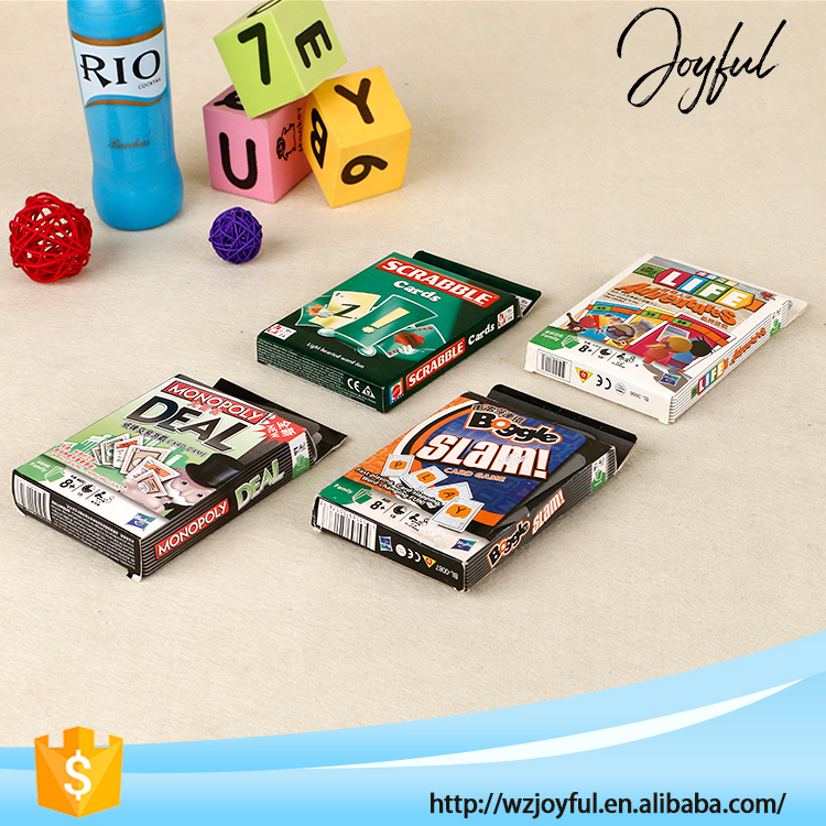 Party Game creative Top quality indoor custom card board game printing