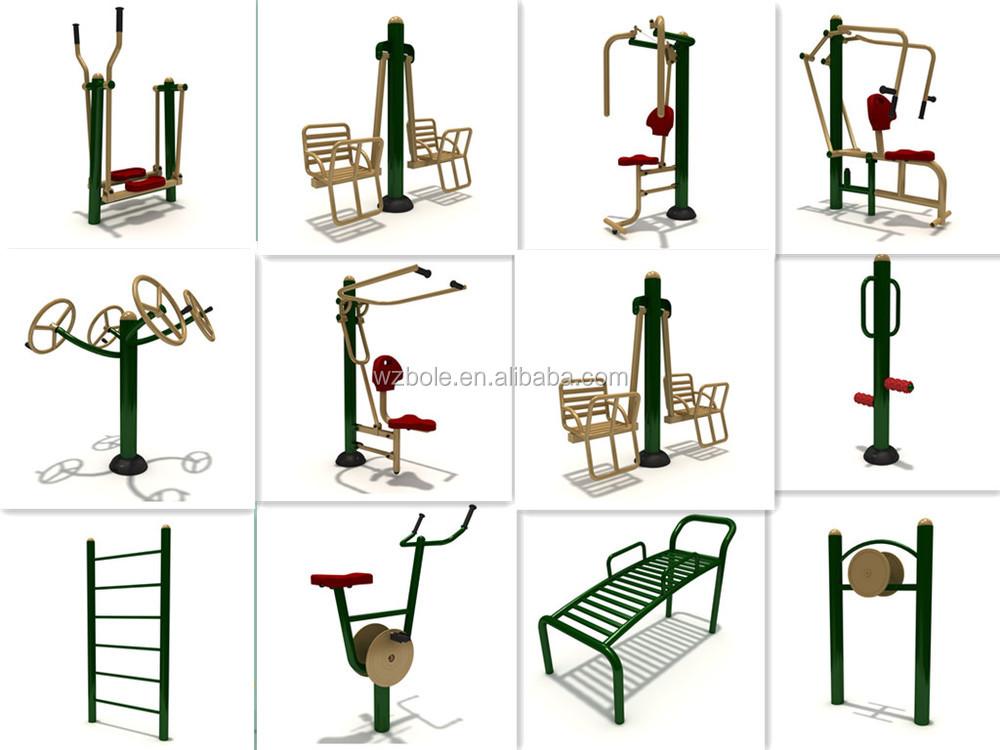 Best Price Galvanized Steel Outdoor Fitness Sports Air
