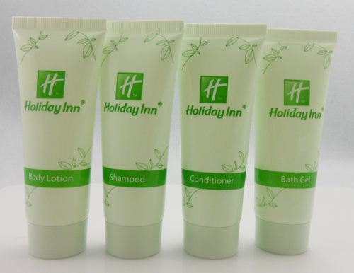 Bathroom Accessories Packaging 30ml biodegradable empty hotel cosmetics packaging tube /bulk