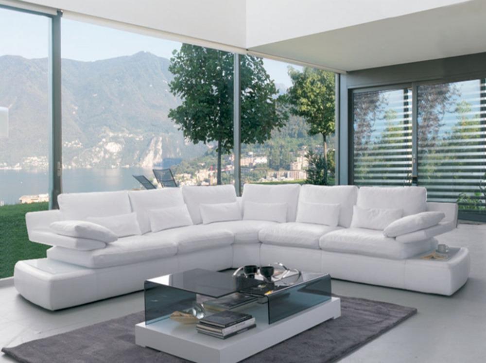 Small Corner Sofa for Living Room, Modern Fabric Corner ...