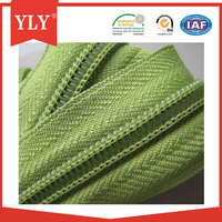 China supply competitive price #4 open-end nylon zipper