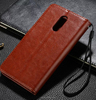 Wholesale china factory wallet cover for redmi pro2 Oil wax leather holster case for xiaomi redmi pro 2