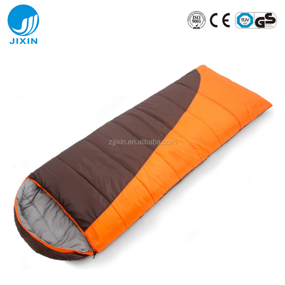 2017 New arrival cheap Outdoor 3 season sleeping bag for camping hiking travelling