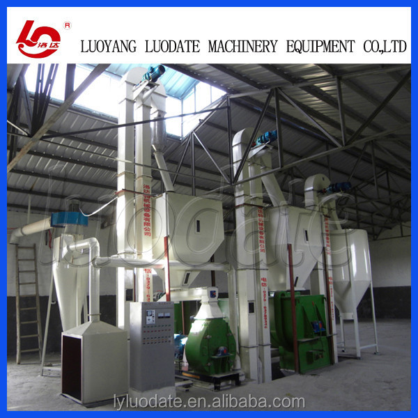 LUODATE Bull Cow And Dairy Cattle Feed Pellet production line
