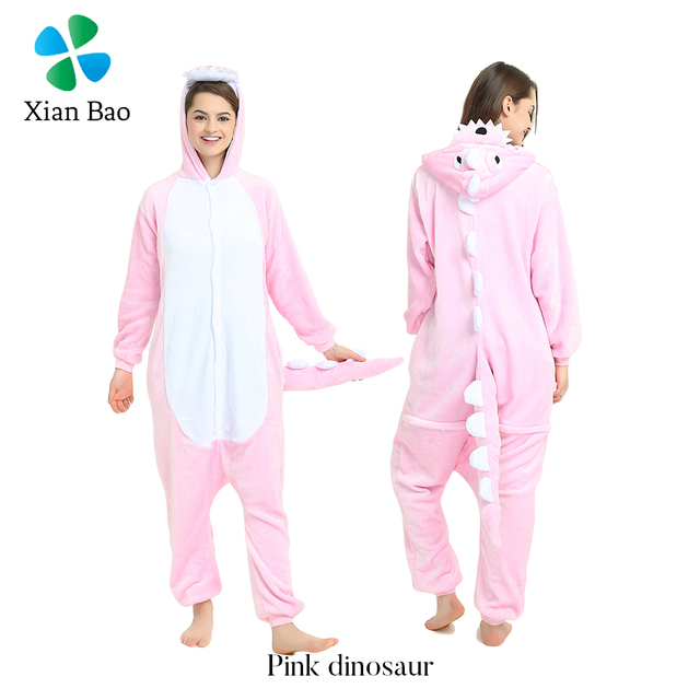 Quality-Assured New Fashion Animal Pajamas Wholesale Adult Flannel Powdered  Dinosaurs Onesie 04a6ecba5