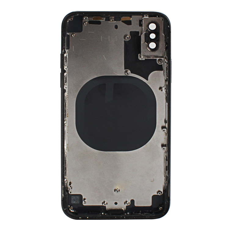 Original New Back Middle Frame glass For iphone X Full Housing Cover Assembly