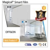 Easy Installation Ultra Clear Switchable Glass