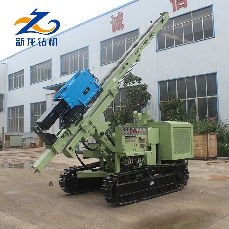 Factory direct sale good quality new condition solar static pile driver
