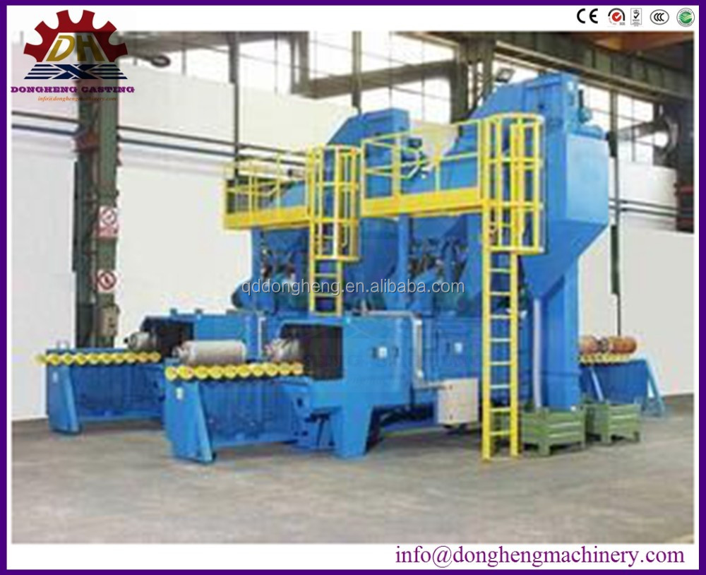 Easily use method surface suitable for descaling shot blasting machine (DHH)