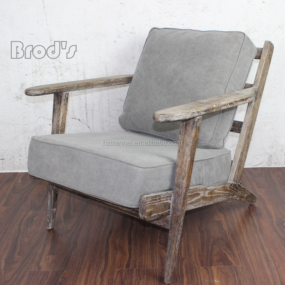 hot sale Risom wooden lounge chair, garden lounge chair