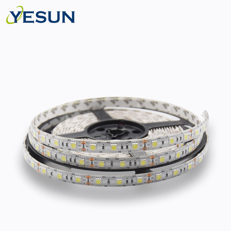 PU Glue Beauty <strong>RGB</strong> 60leds SMD 5050 IP65 led strip for outdoor decoration lighting