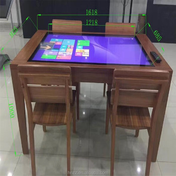 42 inch 10 point capacitive waterproof lcd touch screen coffee table