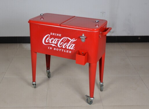 cooler pepsi box with wheels