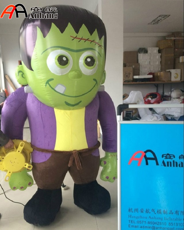 Lighting Inflatable Frankenstein Monster Costume