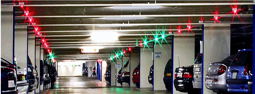 Parking Lot Ultrasonic Sensor For Smart Parking Guidance